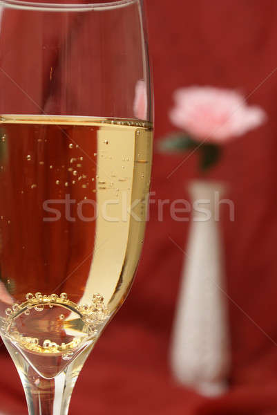 Proposing with Champagne Stock photo © AlphaBaby