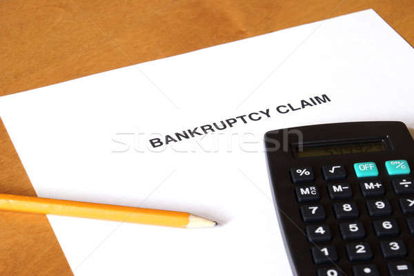 Filing For Bankruptcy Stock photo © AlphaBaby