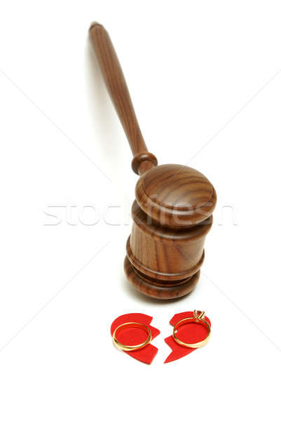 Legal Divorce Stock photo © AlphaBaby