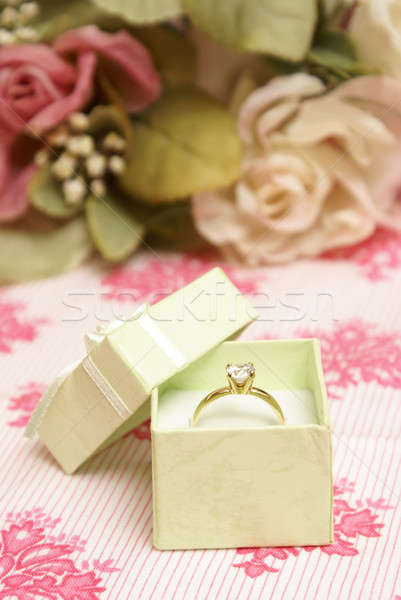 Diamond Ring Stock photo © AlphaBaby