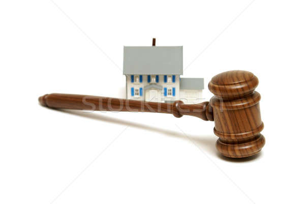 Residential Legalities Stock photo © AlphaBaby