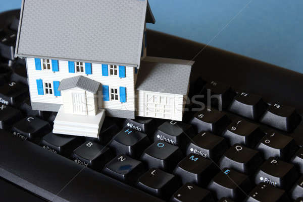 Home Keyboard Concept Stock photo © AlphaBaby