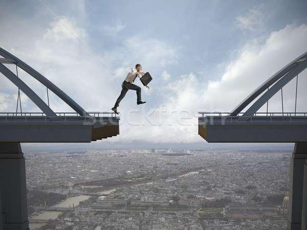 Overcome the problems Stock photo © alphaspirit