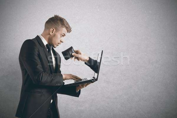Being robbed by a scam Stock photo © alphaspirit