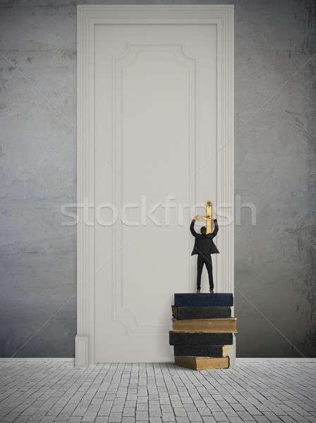 Groot gelegenheid business boek werk home Stockfoto © alphaspirit