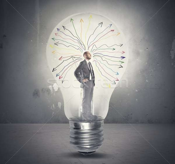 Genius Stock photo © alphaspirit
