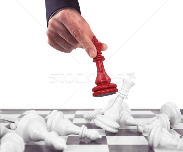King of chess Stock photo © alphaspirit