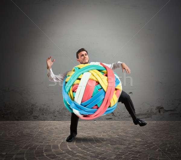 Stressed tangle Stock photo © alphaspirit