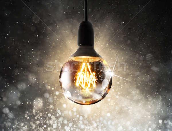 лампочка большой Сток-фото © alphaspirit