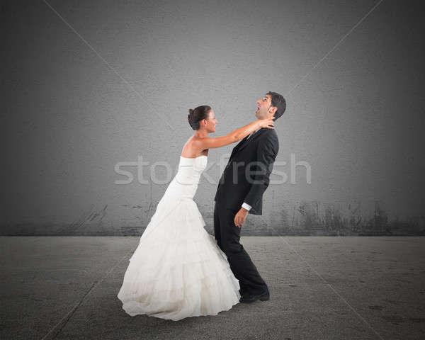 Bad marriage Stock photo © alphaspirit