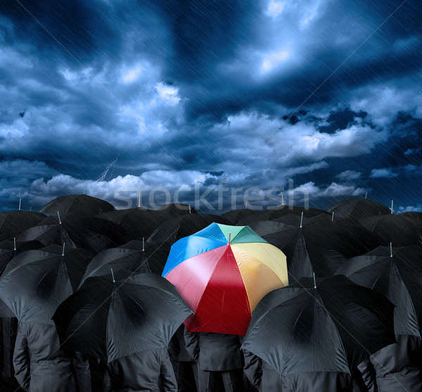 Be a different businessman Stock photo © alphaspirit