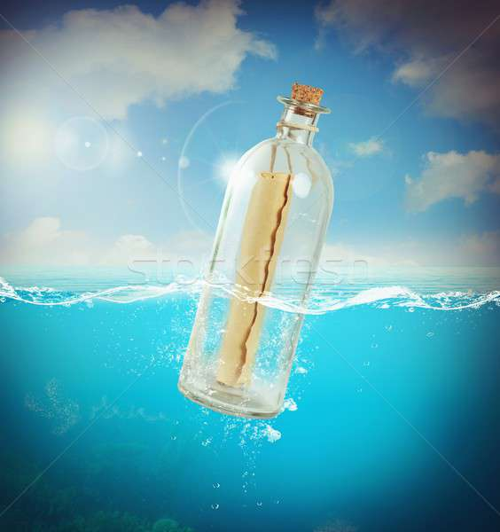 Message in a bottle Stock photo © alphaspirit
