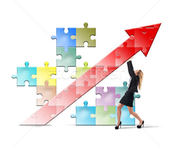 Build and sustain success Stock photo © alphaspirit