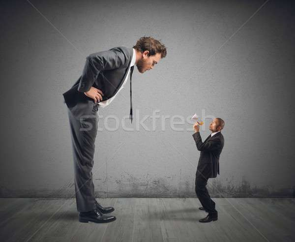 Businessman accused Stock photo © alphaspirit