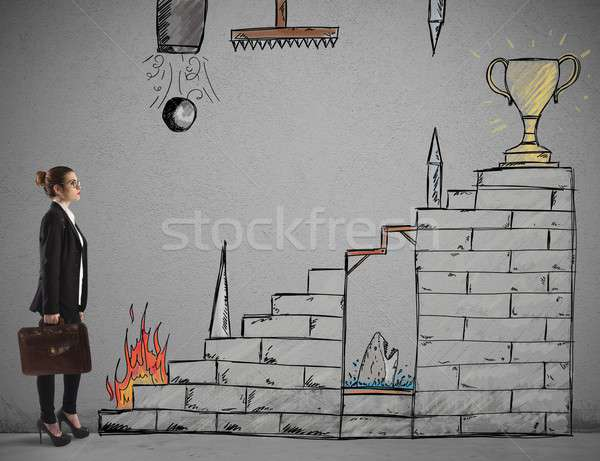 Difficult career Stock photo © alphaspirit