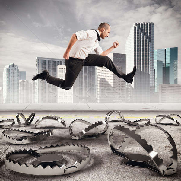 Overcome traps Stock photo © alphaspirit