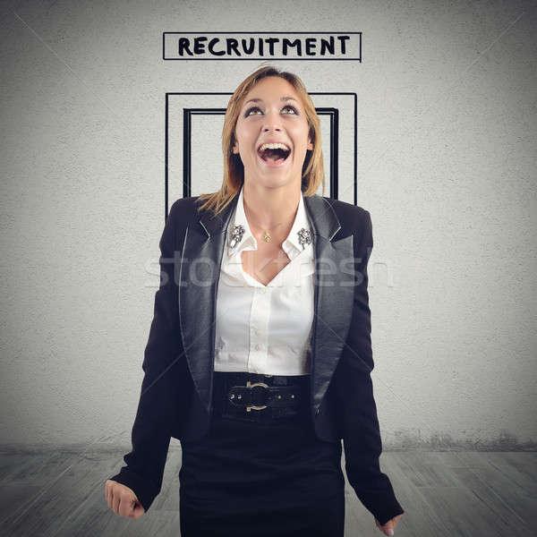 募集 職場 女性 ルーム 楽しく 幸せ ストックフォト © alphaspirit