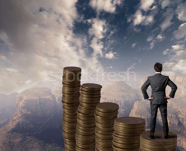 Business growth Stock photo © alphaspirit