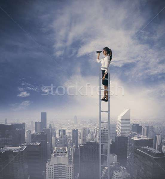Business exploration Stock photo © alphaspirit