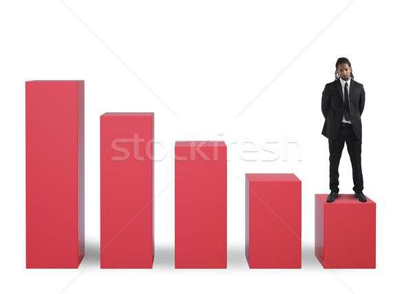 Economic failure Stock photo © alphaspirit
