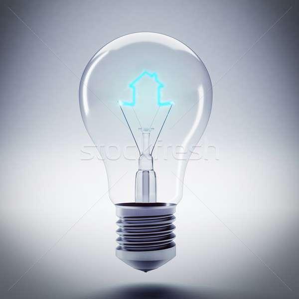Energy of bulb light Stock photo © alphaspirit