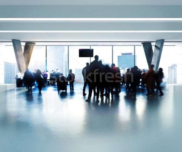Airport Stock photo © alphaspirit