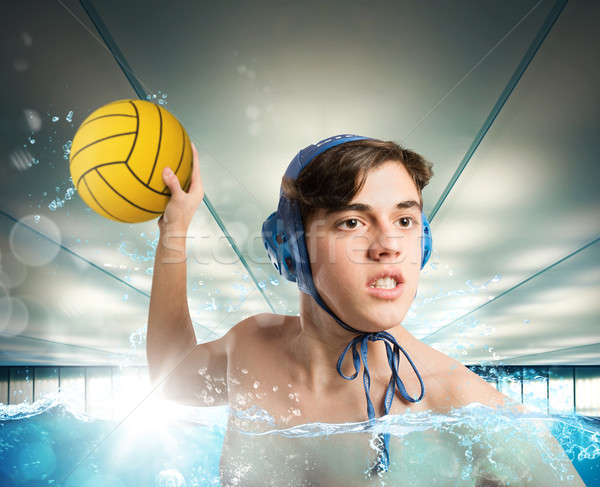 Waterpolo Stock photo © alphaspirit