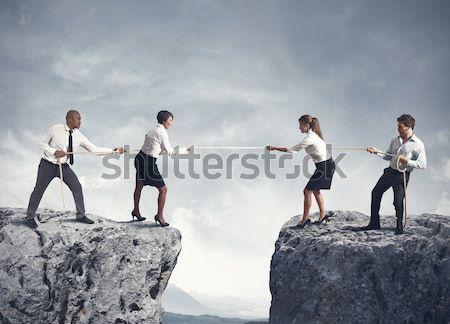 распятие налоговых бизнесмен каменные двое мужчин молиться Сток-фото © alphaspirit