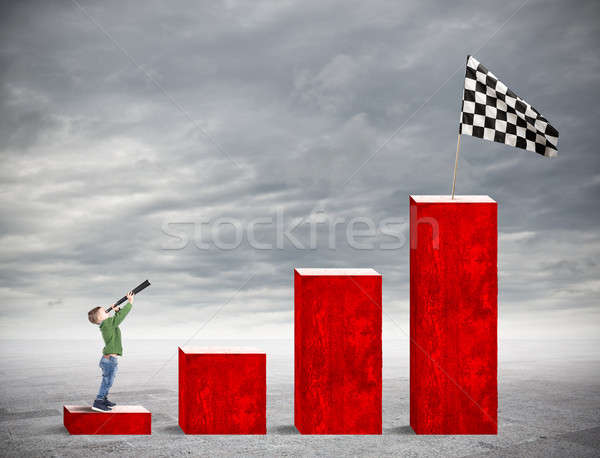 Desire for business glory Stock photo © alphaspirit