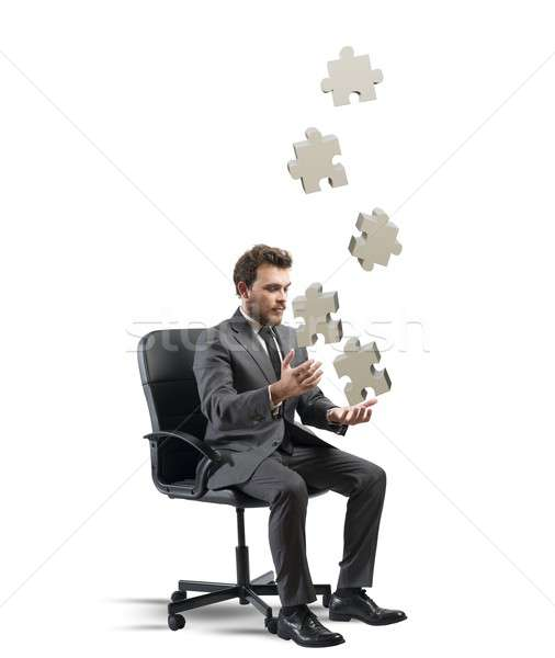 Business game Stock photo © alphaspirit