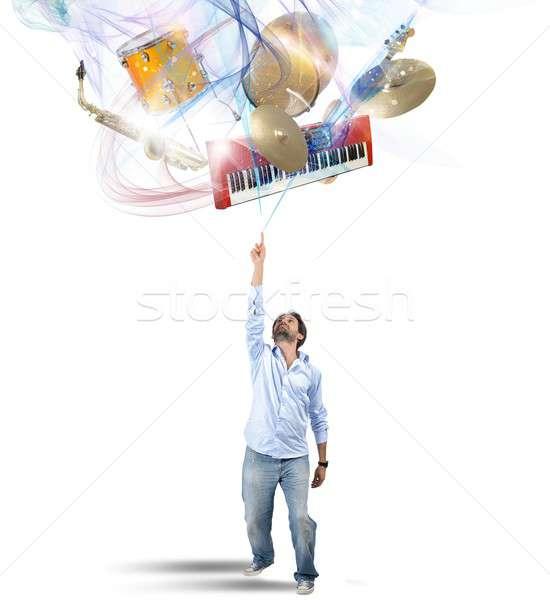 Select instrument Stock photo © alphaspirit