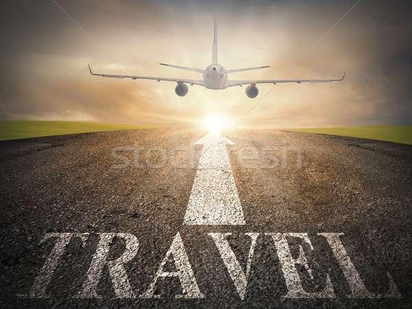 Travel  way Stock photo © alphaspirit