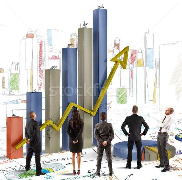 Team of company Stock photo © alphaspirit