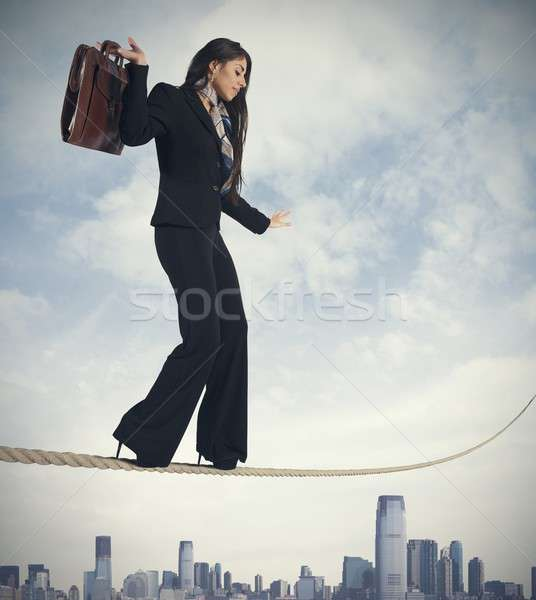 Risk in business Stock photo © alphaspirit
