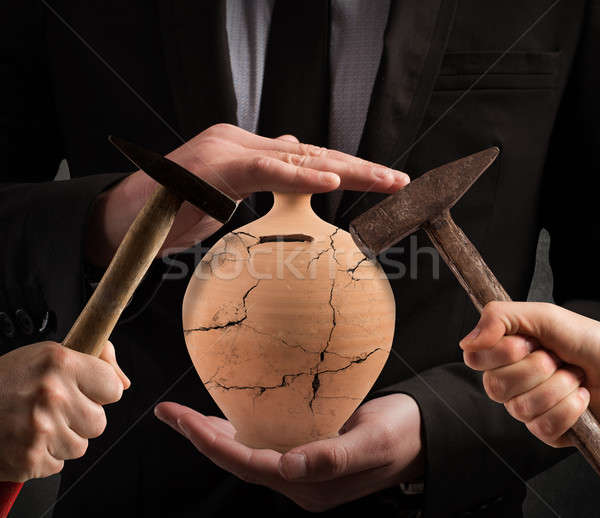 Protect investment Stock photo © alphaspirit