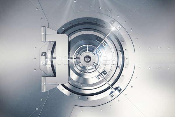 3D Rendering safe door Stock photo © alphaspirit