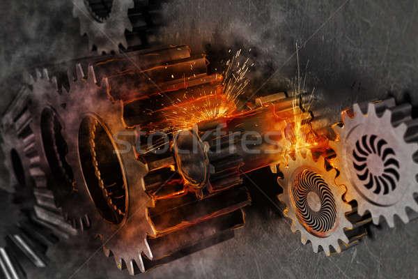 передач механизм проблема 3D Gear Сток-фото © alphaspirit