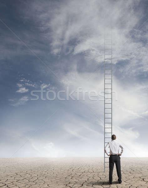 Hard way to success Stock photo © alphaspirit