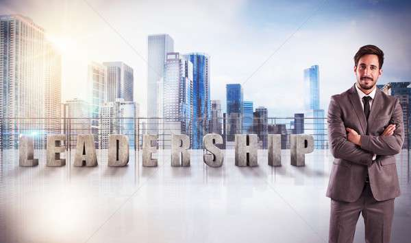 Leadership view Stock photo © alphaspirit