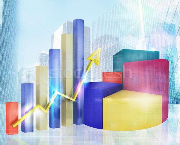 Zdjęcia stock: Analiza · zysk · wykresy · statystyka · działalności · świat
