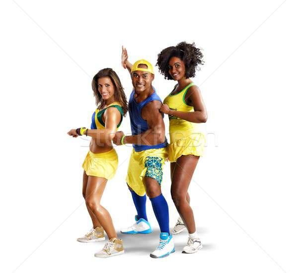 Three dancer Stock photo © alphaspirit