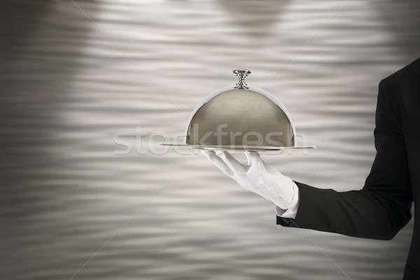 Pierwsza klasa usługi działalności pracy biznesmen kucharz Zdjęcia stock © alphaspirit