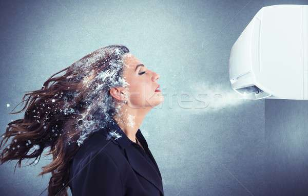 Powerful air conditioner Stock photo © alphaspirit
