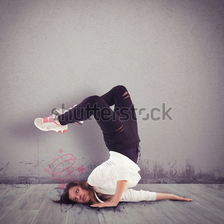 Graceless dancer Stock photo © alphaspirit