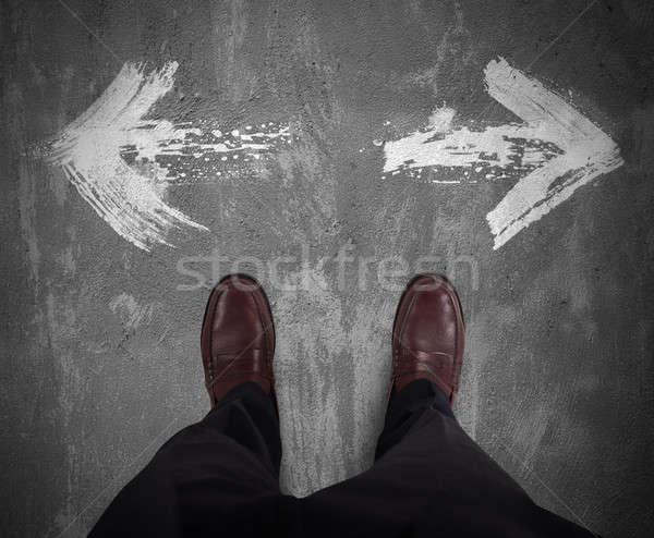 Choices of a businessman Stock photo © alphaspirit