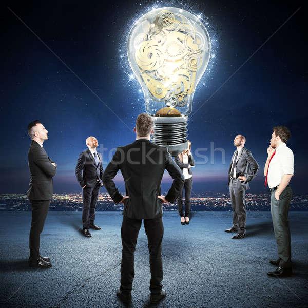 Construir equipo idea ver grande Foto stock © alphaspirit