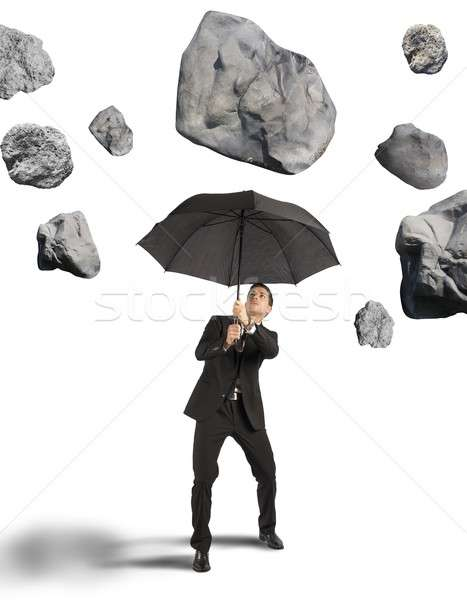 Shelter from the storm of crisis Stock photo © alphaspirit