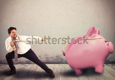 Preserve savings with fatigue Stock photo © alphaspirit