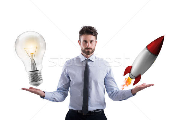 Business idea and start-up Stock photo © alphaspirit