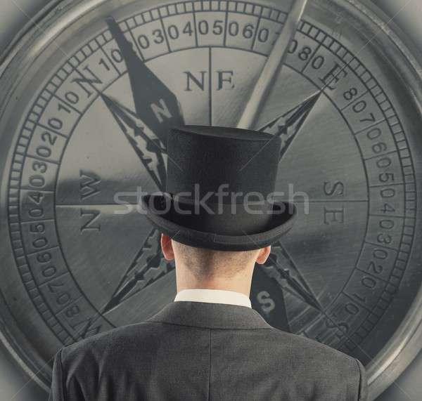 Business direction Stock photo © alphaspirit
